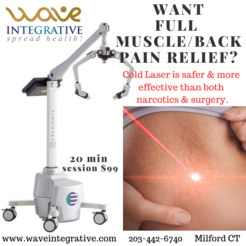 RT @WaveIntegrative: #ColdLaser is not only safe - it works BETTER than narcotics for pain relief. Providing safe and effective #PainSolutions is part of our #FunctionalMedicine mission to lower #narcoticabuse.  SHARE if you think more people should know…pic.twitter.com/M07J4joz3U
