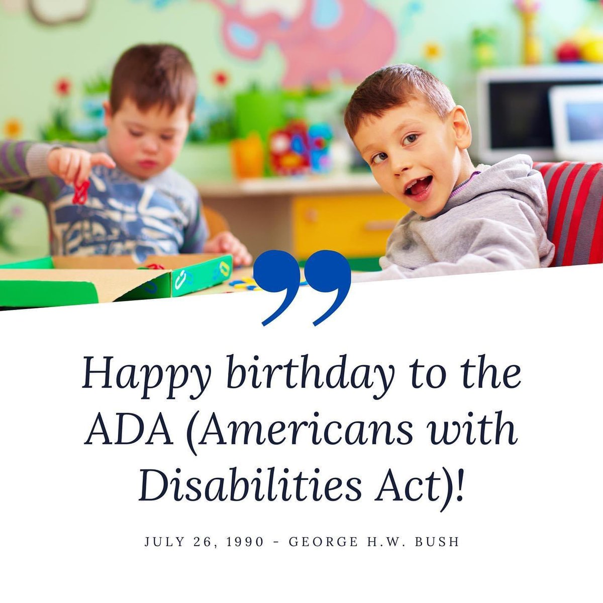 Happy (belated) birthday to the ADA!!!