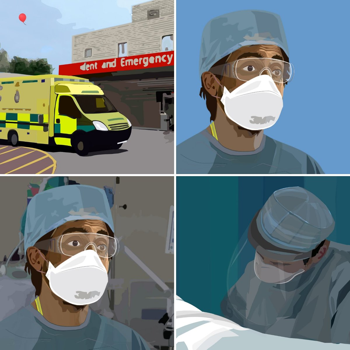 COVID19THREADS Milton Keynes University Hospital talks about the emotional impact of Covid. Words by Dr Hamid Manji,  voiced by @sacha_dhawan  commissioned by Milton Keynes Islamic Arts & Culture  @MKIAC  produced by @MutinyProjects. https://t.co/RsvQRb00A7
