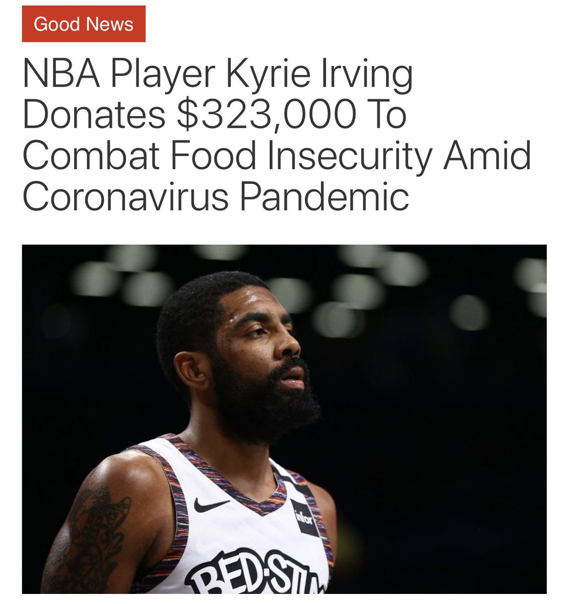 Kyrie Andrew Irving 🔥 https://t.co/IWtVSaMhQm