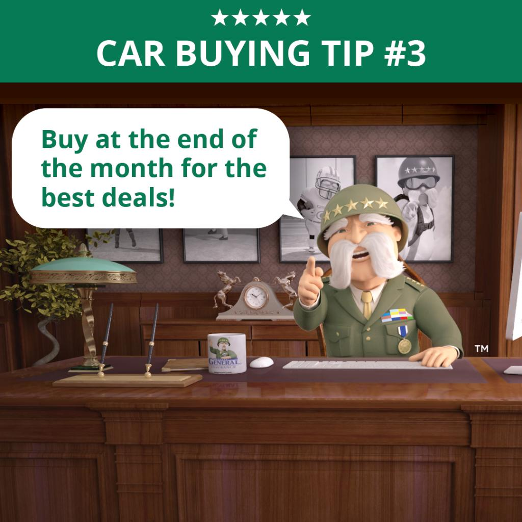 Planning to buy a car? We'll get you covered.  #RideWithTheGeneral