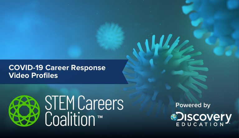 Proud to be part of the 'COVID-19 Solution Seekers' video series from @DiscoveryEd that aims to help students connect the dots between the application of #STEM skills, innovating solutions, and important real-world challenges. https://t.co/nEXTQHHJil #EmpoweringLife https://t.co/M8cVsJUO74