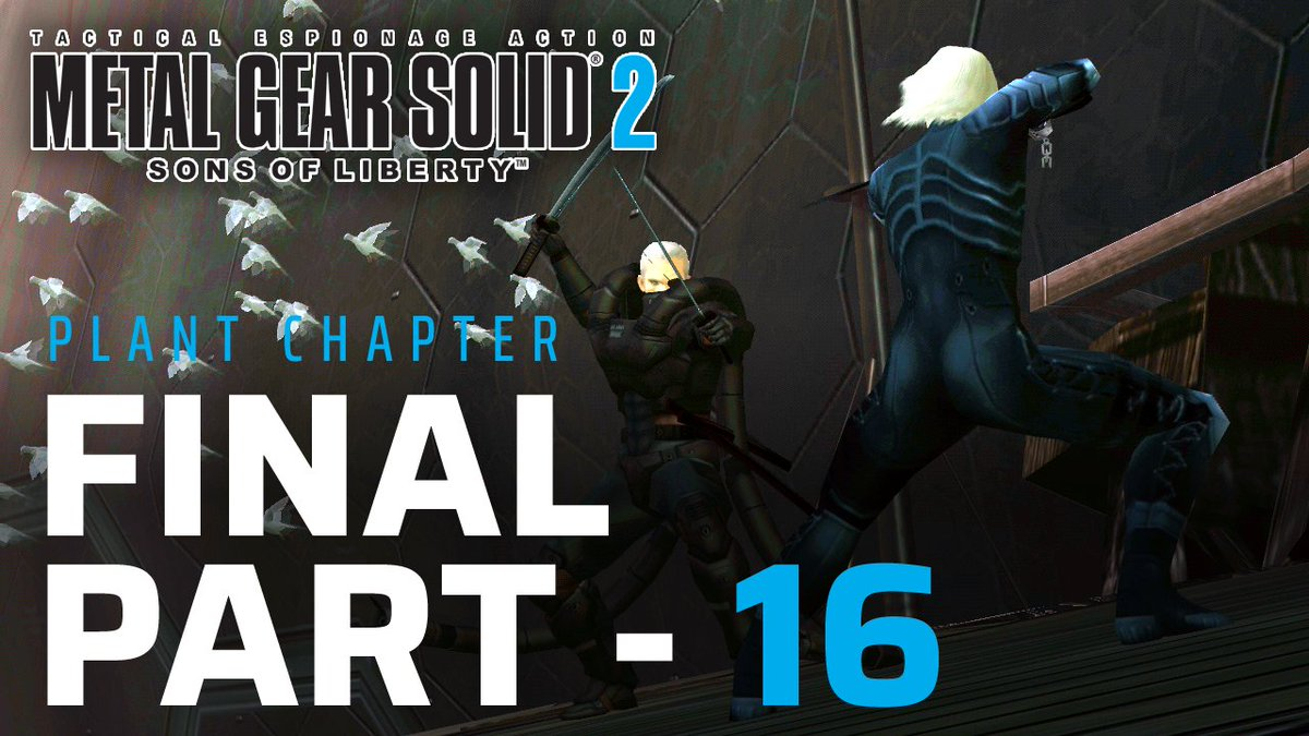 Final Part for my #metalgearsolid2 playthrough  Metal Gear Solid 2 - Sons Of Liberty: Plant Chapter - Final Part 16 (No ... https://youtu.be/xUzjeWgXBYg  via @YouTube   #agentcell #mgs2 #solidsnake #raiden #solidussnake #metalgear33pic.twitter.com/haCLElzISj