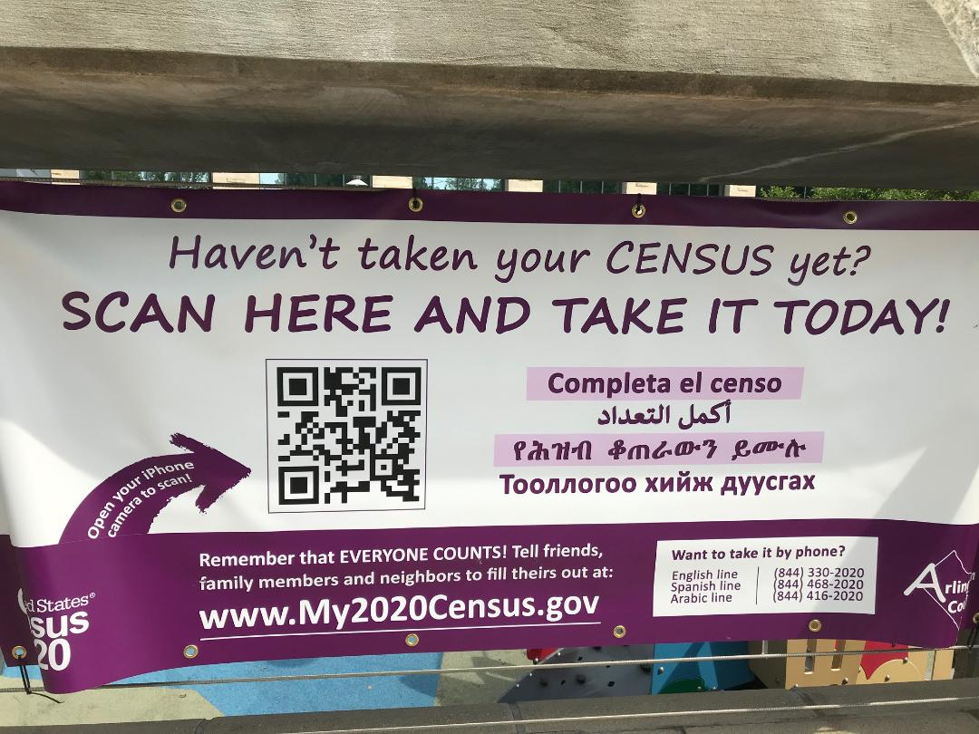 It's not too late! Everyone should respond to the 2020 Census. Why? Because <a target='_blank' href='http://twitter.com/ArlingtonVA'>@ArlingtonVA</a>'s share of federal funding comes directly from the Census. Enumerators are knocking on doors. But you can still reply online. For more details, go to <a target='_blank' href='https://t.co/8173LVfUIZ'>https://t.co/8173LVfUIZ</a>  <a target='_blank' href='http://search.twitter.com/search?q=everyonecounts'><a target='_blank' href='https://twitter.com/hashtag/everyonecounts?src=hash'>#everyonecounts</a></a> <a target='_blank' href='https://t.co/cNsLPuojTd'>https://t.co/cNsLPuojTd</a>