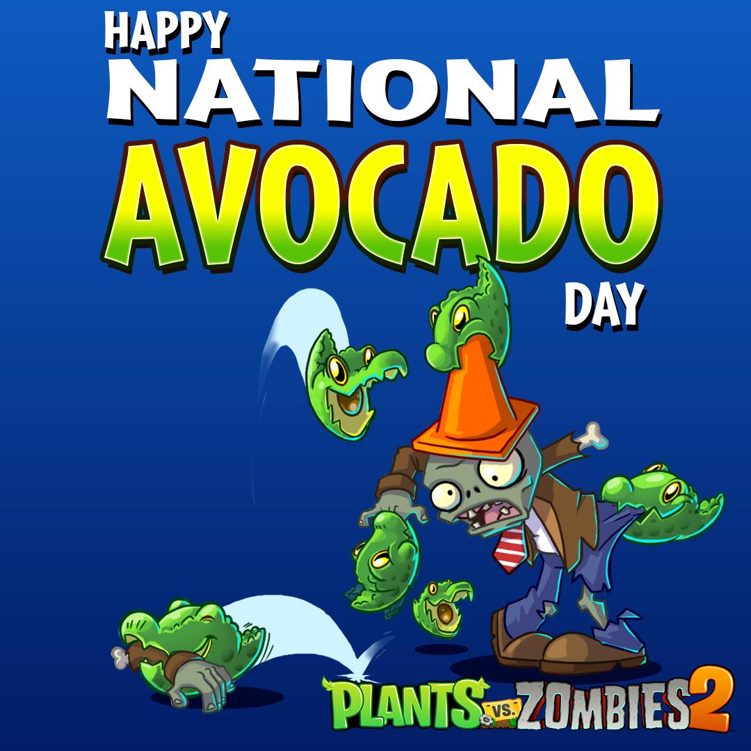 @PlantsvsZombies's photo on #NationalAvocadoDay