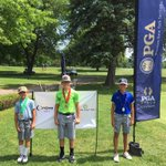 Image for the Tweet beginning: Race to the @WNYPGA Jr