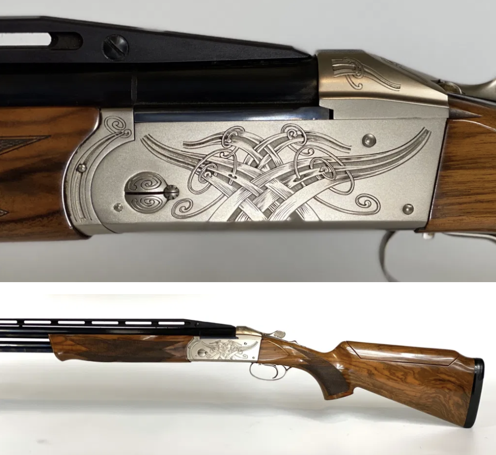 We have a gorgeous, pre-owned Krieghoff K-80, Celtic Scroll in stock. 32″ CT2 F/R 12 ga. barrel (wedge), #3 Sporting Stock, LOP 14 1/2, Americase gun case included. Call us today at (210) 829-0297 for more details. pic.twitter.com/4jmrytxtSm