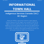 Image for the Tweet beginning: ISC BC Region Town Hall