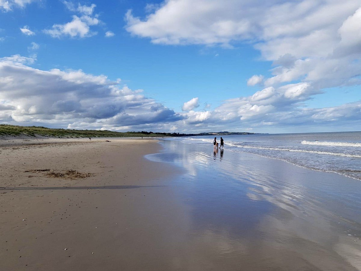 """Met Éireann on Twitter: """"Curracloe beach, Co. Wexford this evening. Max  temps today 19.5 C at both Johnstown Castle, Co. Wexford and Phoenix Park,  Dublin.… https://t.co/ICqIomg76t"""""""