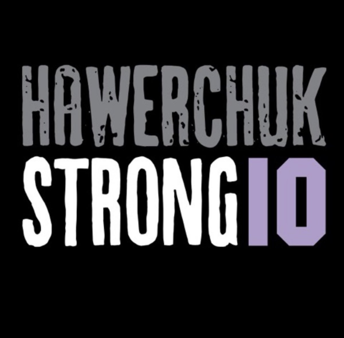 Sending love, support and prayers to Dale and his family. Stay strong my friend. #HawerchukStrong https://t.co/MOwdbuRmmt