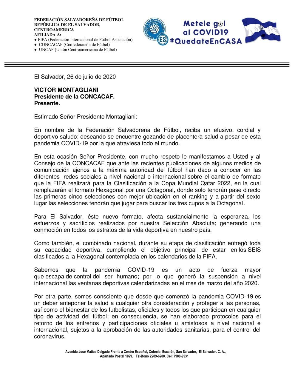 Nuevo Formato para la Clasificatoria de Concacaf a la Copa Mundial de la FIFA Catar 2022 Ed9d0YRXsAA0OTc?format=jpg&name=large