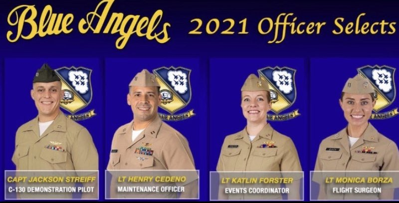 Congratulations former Patriot Jackson Streiff for being chosen as a Blue Angel Officer Select!!  We're proud of you!  Awesome! https://t.co/gyn6YAjVtx