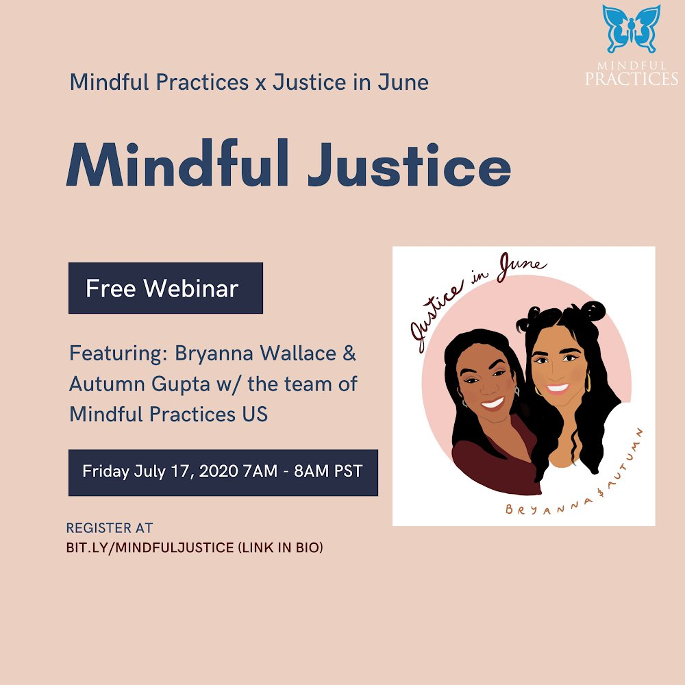 This Friday we will be speaking with Mindful Practices to share our story, insight and progress with Justice in June. Join us as we dive deep, discuss hot topics & what it takes to sustain impactful change. Register at https://t.co/f9Aaq9utU4 #amplify https://t.co/NxHA4ahirv