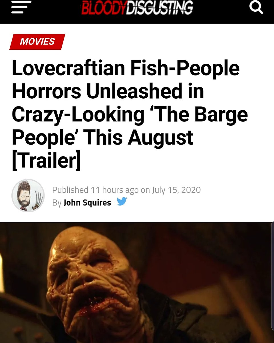 Our fishy lads featuring on @BDisgusting!!!  Not long now #America, #August 18th!!! . . . #horror #HorrorMovies #horrorfilm #thebargepeople #horrorfilms #HalloweenKills #bloodydisgusting #horrorcollector #horrornerds #horrortrailer #horrors #HPLovecraft #TheHillsHaveEyespic.twitter.com/OsIXUKPru3