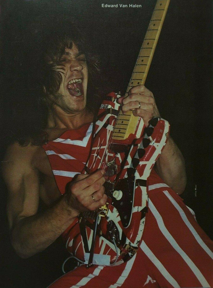 Greg Renoff On Twitter Edward Van Halen Diver Down Tour 1982
