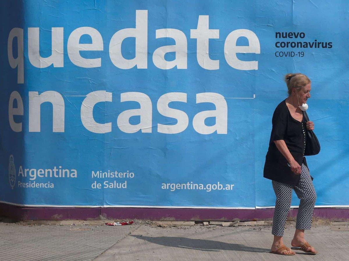 🇦🇷 | ARGENTINA   #ULTIMAHORA Argentina  reporta 4,250 nuevos casos y 63 nuevas muertes por coronavirus  #Argentina #COVID__19 https://t.co/AokMVZ9Clb