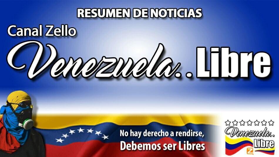 🚨💥ULTIMA HORA💥🚨Las noticias más destacadas #15Julio 2020 en Venezuela y el mundo por Venezuela..Libre @Zello ¡Recuerda, no hay derecho a rendirse, debemos ser LIBRES! https://t.co/IiJVisJrcz Infórmate, danos 👍🏼, comparte y suscríbete a nuestro canal YouTube @figuemin https://t.co/RSwPLlJKSe