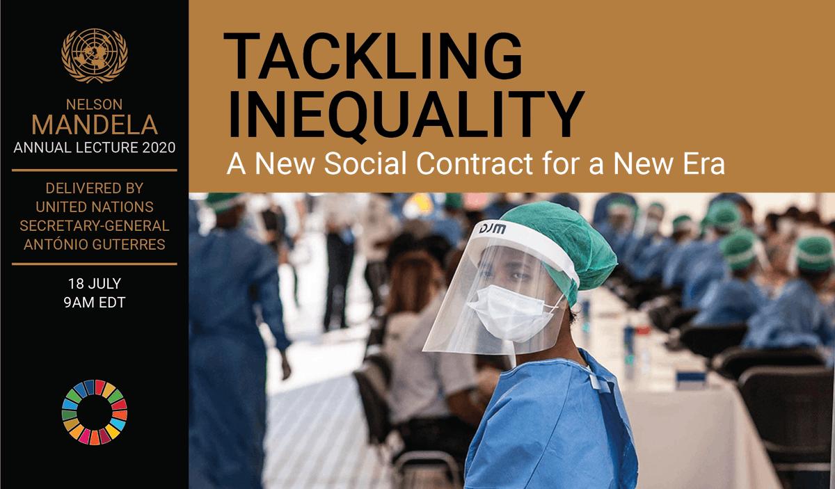 A New #SocialContract for a New Era – #UnitedNations #Sustainable Development https://t.co/C59zuN7wTE via @UN #COVID19 #UN #AntonioGuterres #racism #digitaldivide #Agenda2030 #Cop21 #ClimateChange #Goals #NMAL2020 #SDGS   #Mandeladay #Racism #Inequality #Gender #WomensRights https://t.co/CxPjkr2wys