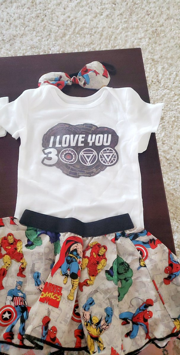 The cutest thing I have bought for a baby yet!!!   #AvengersEndgame #iloveyou3000<br>http://pic.twitter.com/ysNdt2ziPR