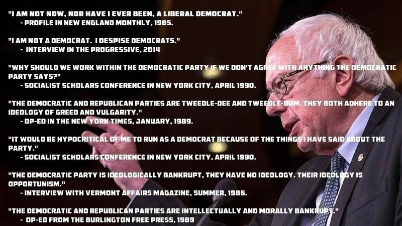 I miss young Bernie   The fuck the Democratic Party Bernie <br>http://pic.twitter.com/fXgWo5JEuE