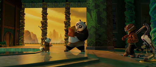 Can we talk about how gorgeous the animation is in the Kung Fu Panda trilogy?  This is one of those film series where the colors really pop off the screen. <br>http://pic.twitter.com/UvWljPkPL9