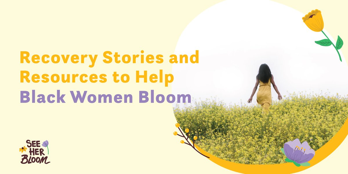 Are you addicted to opioids? With stories of Black women rising up and resources to help you heal, our community was made for you.   We SEE you and want to see you BLOOM. #SeeHerBloom https://t.co/6ZIEgiLtec https://t.co/LR3hjhSlh2