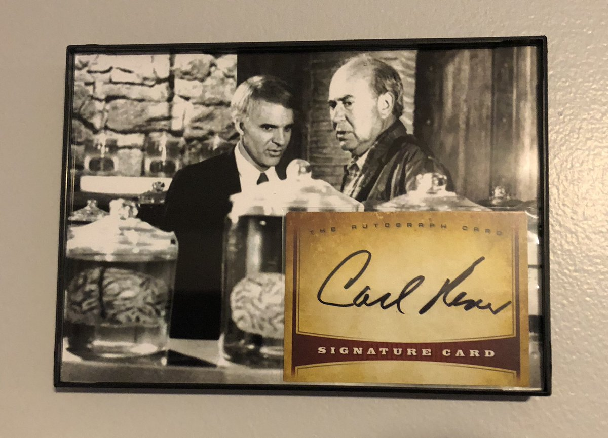 @autographcard So many to choose from, but the late, great Carl Reiner has a special place in our display. https://t.co/fmL4JsNdCT https://t.co/06u4xMFcU5