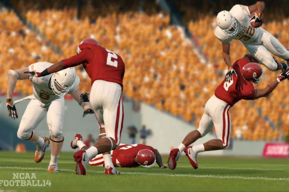 @EASPORTS @NCAA Get group licensing and restart the NCAA FOOTBALL video game franchise. #MakeItHappen <br>http://pic.twitter.com/CQxntRKWrV