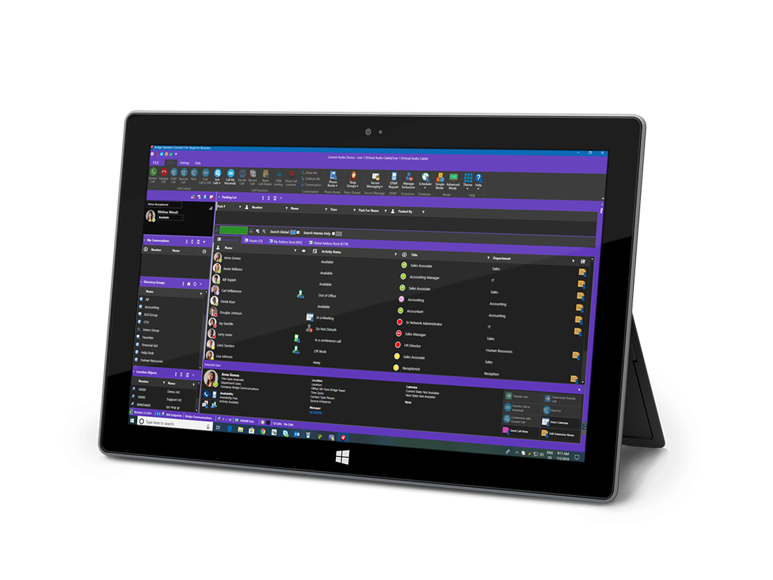 Leverage the power of Teams and Skype for Business with Bridge Operator Console for Microsoft Office Communications. #MicrosoftTeams #Skype4B #Cisco http://www.bridgeoc.compic.twitter.com/s90vqxM1sH