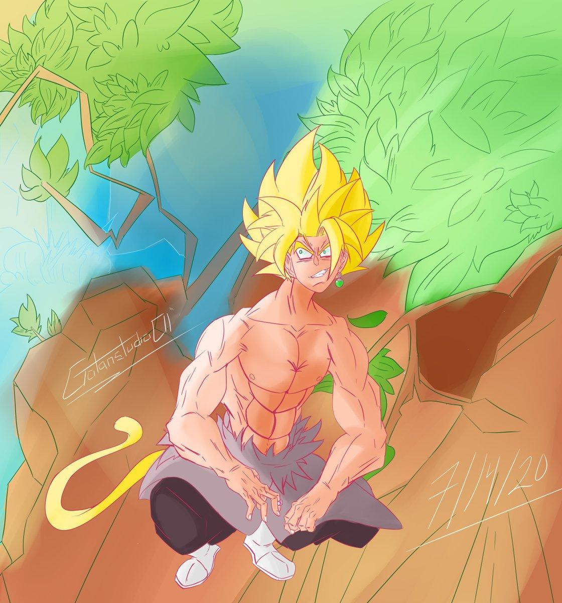 Made some fanart to the youtuber named Hyourinjutsu, Doing a picture of Goku Black from his new animation #DragonBallZ #fanart #anime #manga #illustration #painttoolsai #ArtistOnTwitter #digitalart #practicemakesperfect #anatomyart https://t.co/2Sgh4VEtCT