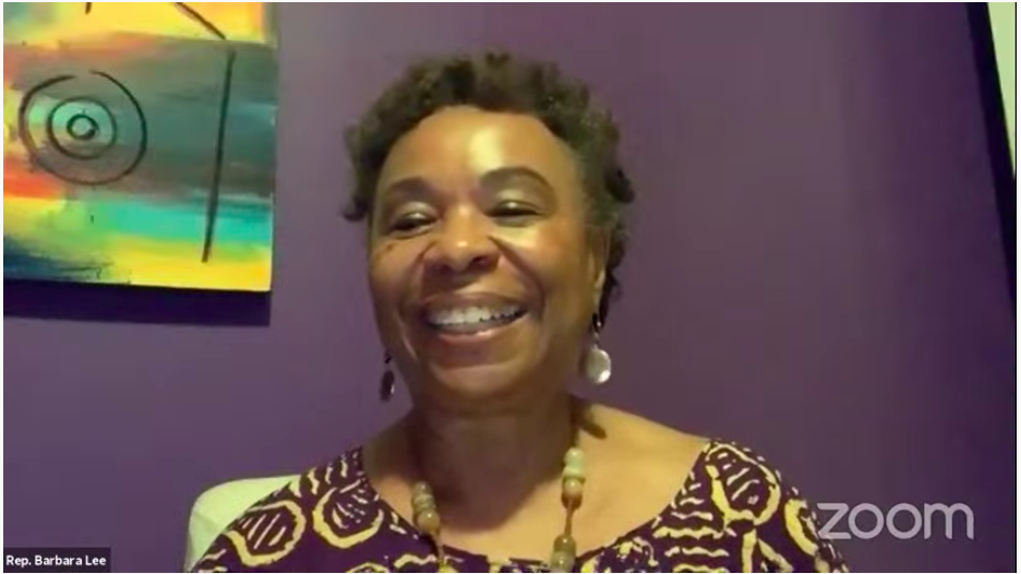 @RepBarbaraLee encourages everyone to make sure they take the census. 2020census.gov #UnderTheBlacklight