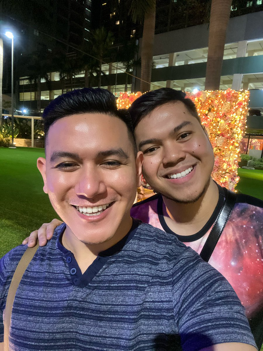 "Hello everyone! My ""Cheek"" and I are planning to do a Q&A vlog. Get to know us more by sending your questions below. We're so excited about this. Subscribe to our YouTube Channel.  See you soon! 🌈  https://t.co/C6mAODuD8e https://t.co/LvJrdba0Wr"