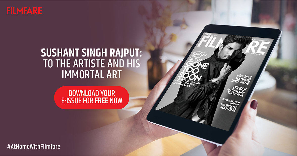 Remembering #SushantSinghRajput in our special July issue.  #AtHomeWithFilmfare  Download your copy of the latest e-issue for FREE now: