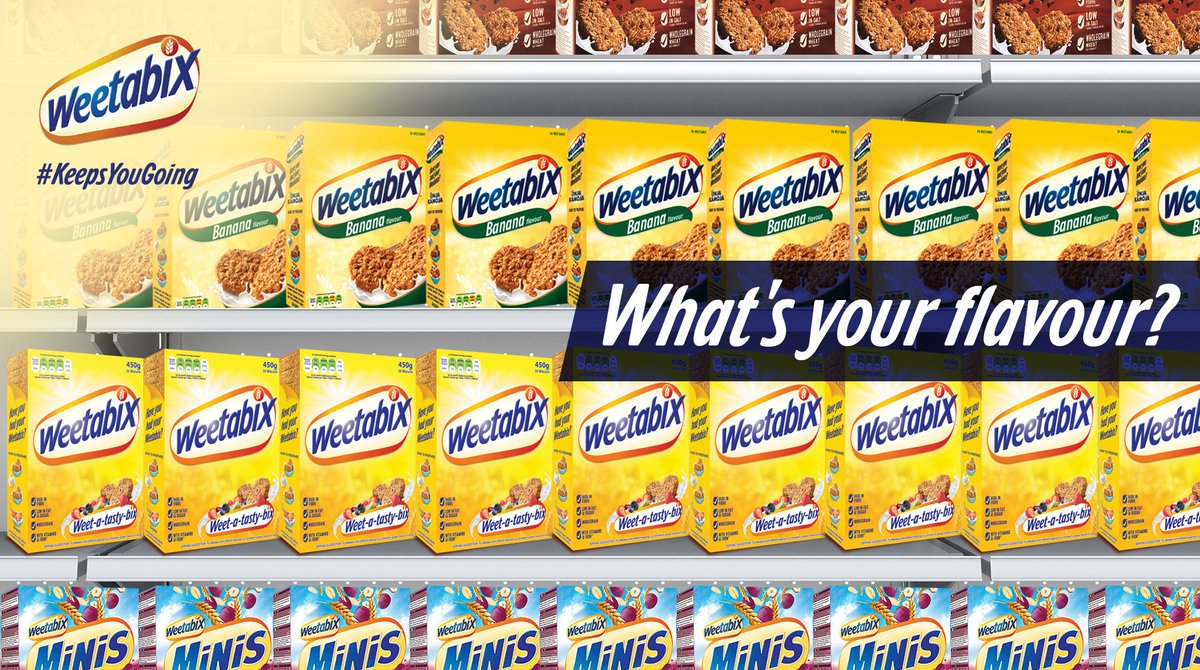 Word on the streets is that this is the season to try something new. What better way to kickstart this new challenge than with the ultimate breakfast selection from Weetabix!  #HelloChange https://t.co/YWKfMiZuIy