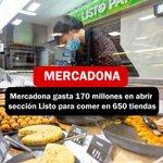 Image for the Tweet beginning: #Mercadona gasta 170 millones en