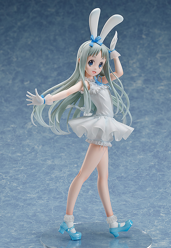Goodsmile Us On Twitter From Anohana Freeing Presents A 1 4th Scale Figure Of Menma In An Adorable Outfit With Rabbit Ears The Figure Stands At An Astounding 400mm In Height Making It A My quirk is yelling loudly. menma in an adorable outfit