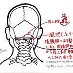 天気悪くなるのが頭痛でわかるって人。このツボを押したらかなり痛みが和らぎます。