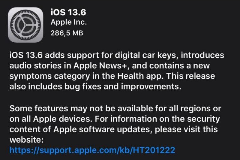 Apple gulirkan update iOS 13.6, iPhone bisa jadi kunci mobil https://t.co/do5TB3UynN https://t.co/8QDClRcJnC