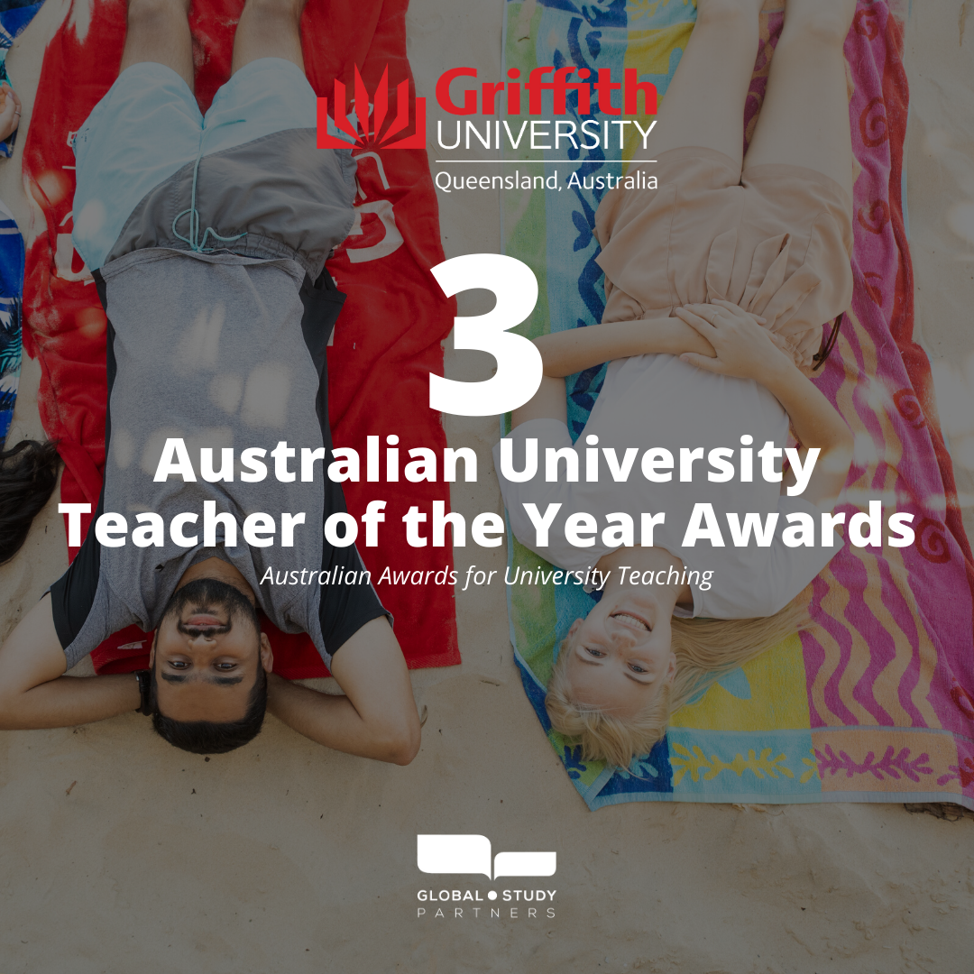 Griffith has received more Australian Awards for University Teaching than any other university, since 2012  #Griffith #GSP #GlobalStudyPartners #InternationalStudent #StudentLife #GriffithUniversity #StudyQueensland #StudyAbroad  #StudyAustralia #ExchangeStudent #Teaching #Awards https://t.co/2f1ejjwLc8