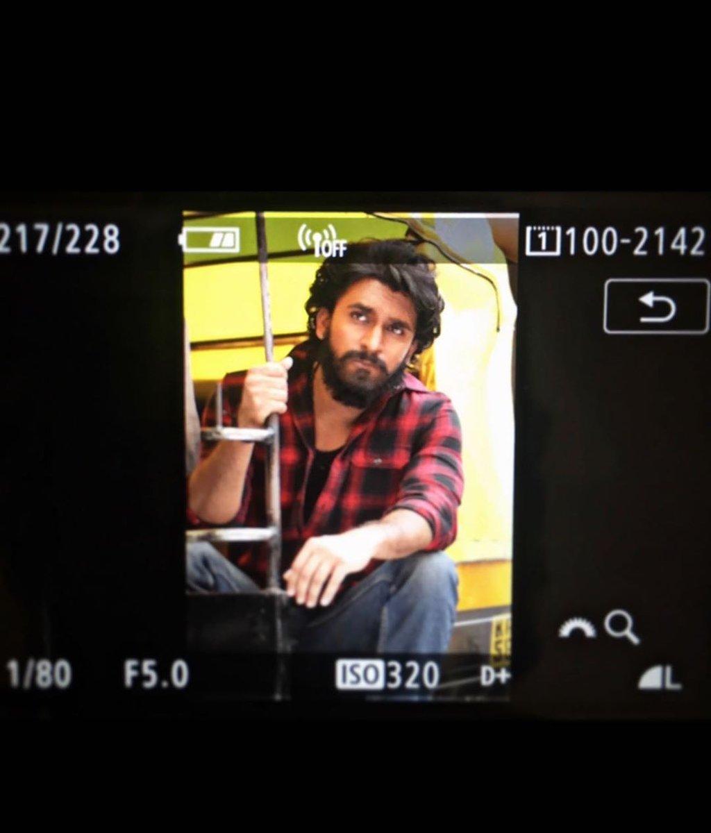 #ShootDiaries Dheeren Ramkumar from sets of 'ಶಿವ 143'   @dheerenrk @manvitakamath #Shiva143 #DheerenRamKumar #Manvita #AnilKumar #JayannaFilms