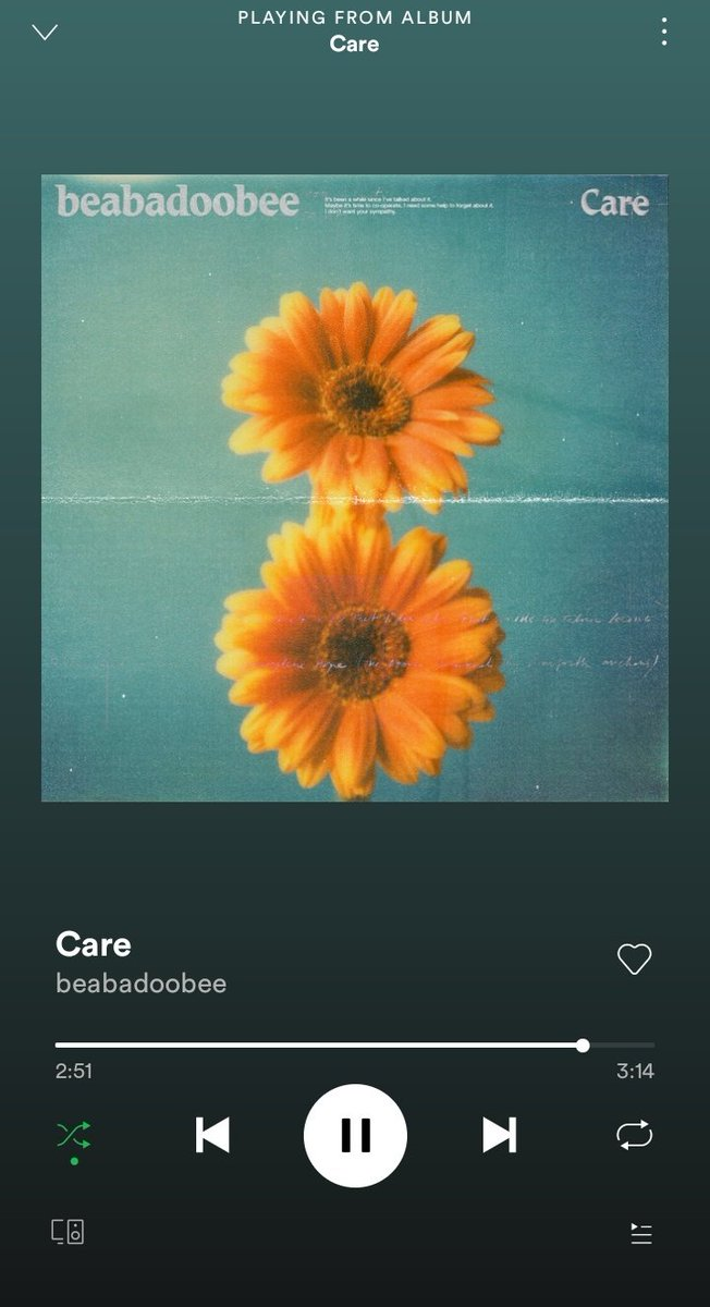my song of the year #Care  #beabadoobeepic.twitter.com/hv0duPhRan