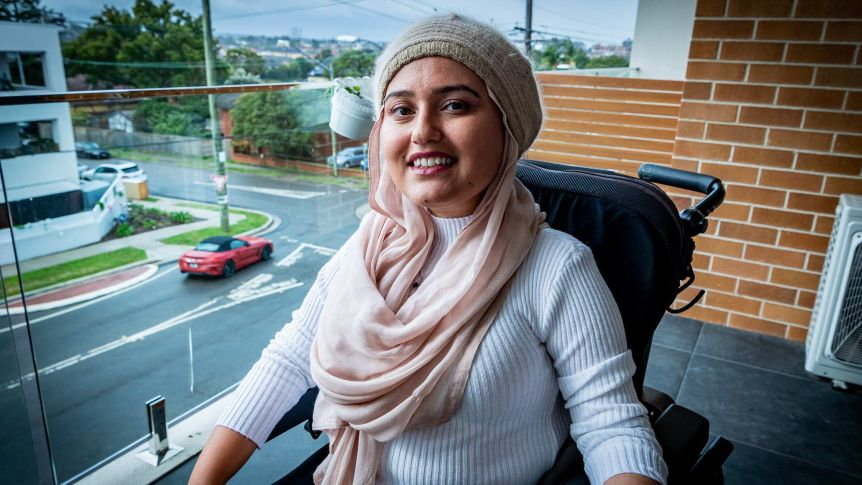 """""""With independence comes challenges too, but the best thing about having my own place is learning a lot about myself"""". Fathema Anwar  is an NDIS participant who successfully moved out thanks to SDA funding.  Read more: https://t.co/CFNNCFRaSn #housing #disability #NDIS @abcnews https://t.co/WebOW1qI3x"""