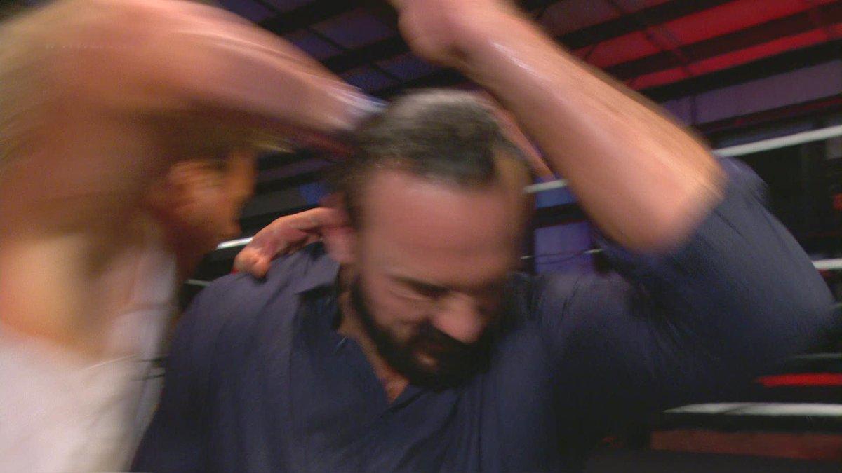 .@DMcIntyreWWE was the victim of a @HEELZiggler ambush on #WWERaw! https://t.co/sLK7lyKO1c