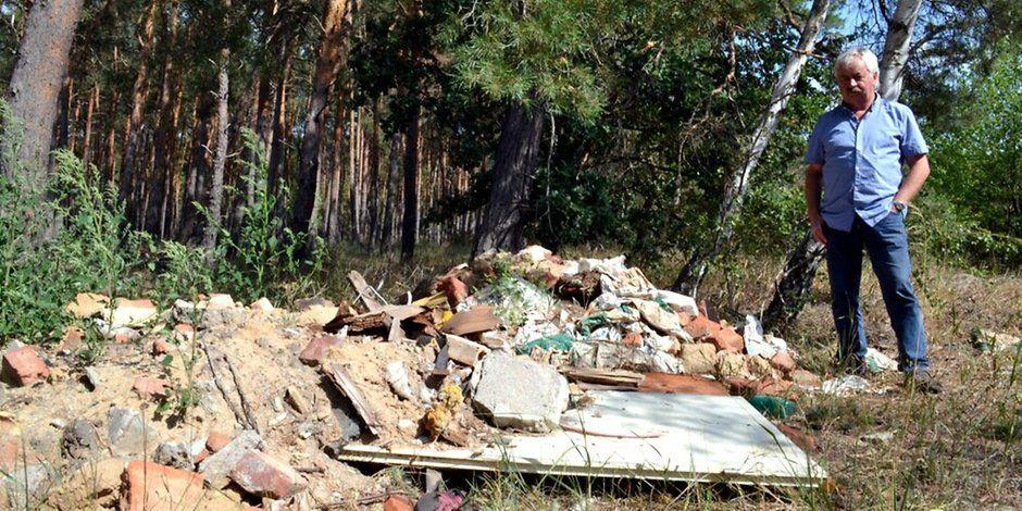 Jessen/Wittenberg: In der Coronazeit ist nicht exorbitant mehr Müll in der Natur verkippt worden. Allerdings auch nicht weniger. Was das bedeutet. (MZ+) https://t.co/NZpsZKU8Du https://t.co/r6cJwzhN2b