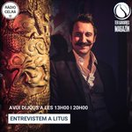 Image for the Tweet beginning: Avui parlem amb Litus, a