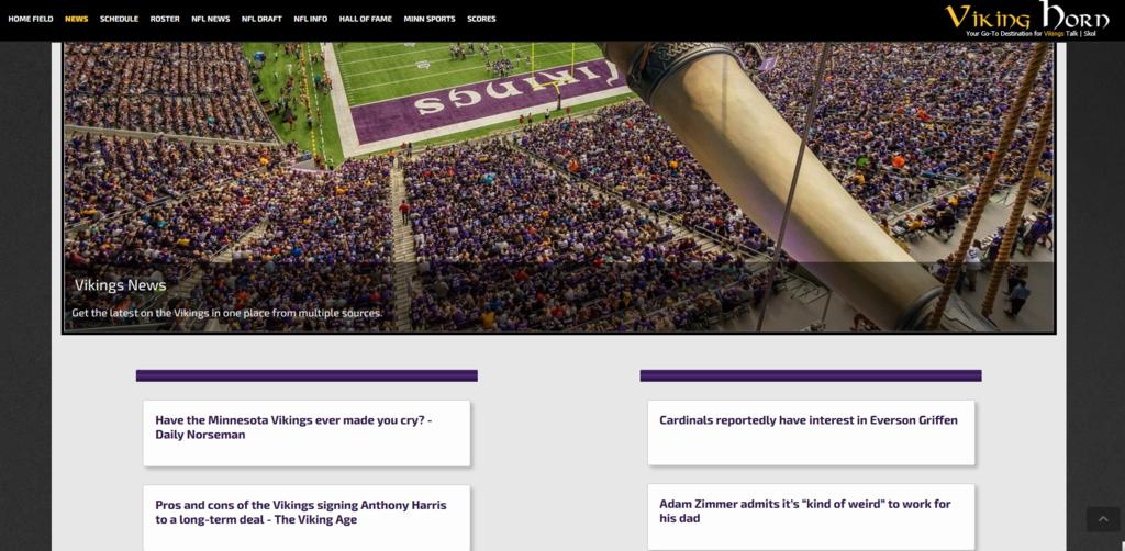 Get the latest Minnesota Vikings News  #proboards #Skol #Vikings #GoPackGo #OnePride #DaBears #NFL