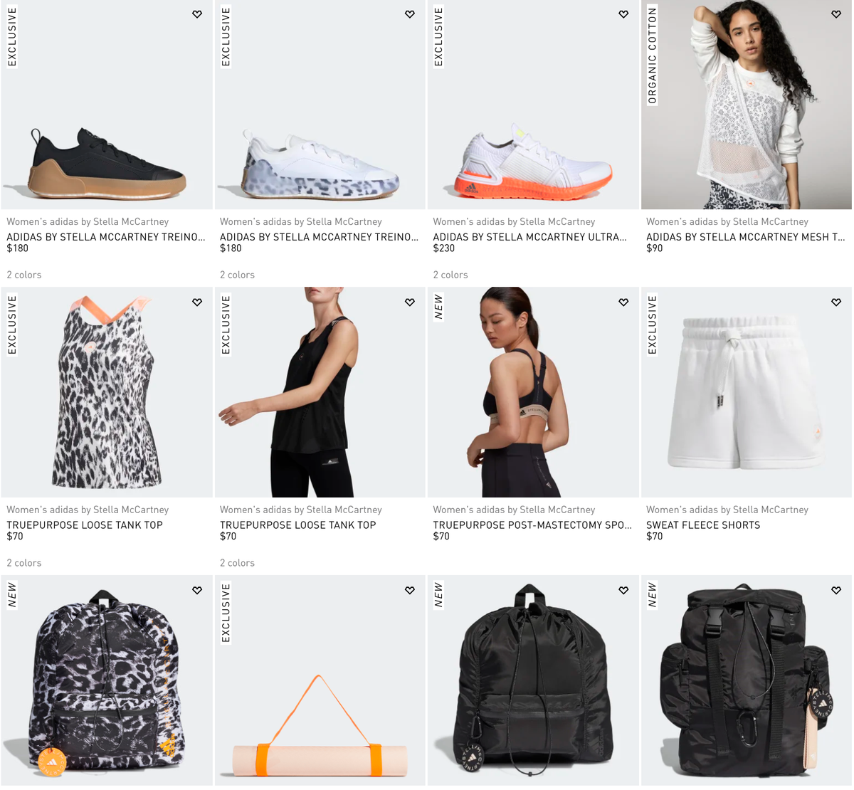 Sole Links On Twitter Ad New Adidas By Stella Mccartney Collection Dropped Via Adidas Us Https T Co Bewg5yyevn