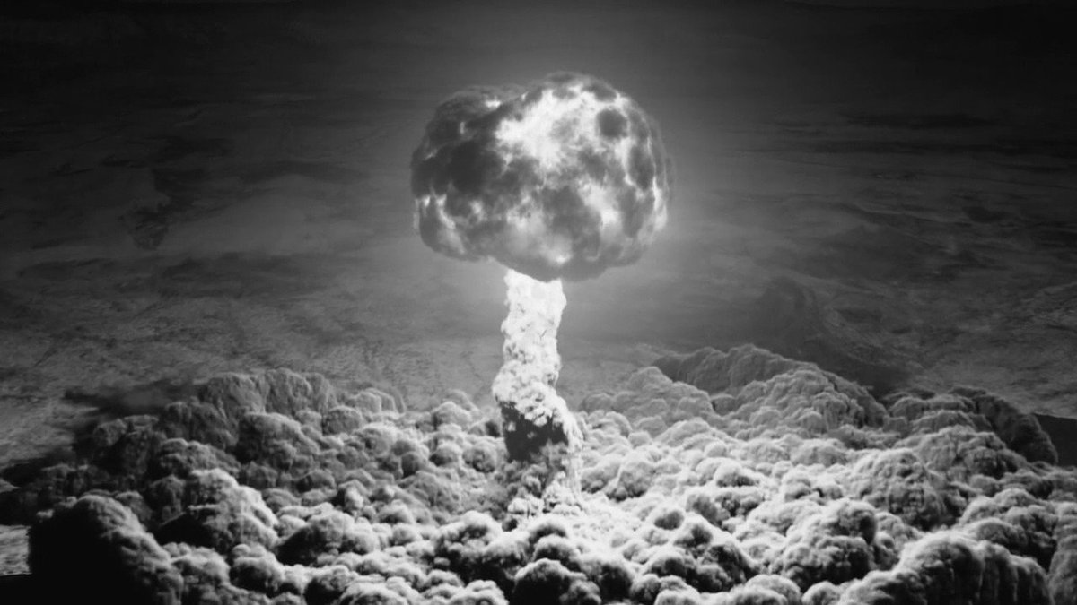 July 16, 1945, White Sands, New Mexico, 5:39 (MWT) 💣🦉😲 #twinpeaks
