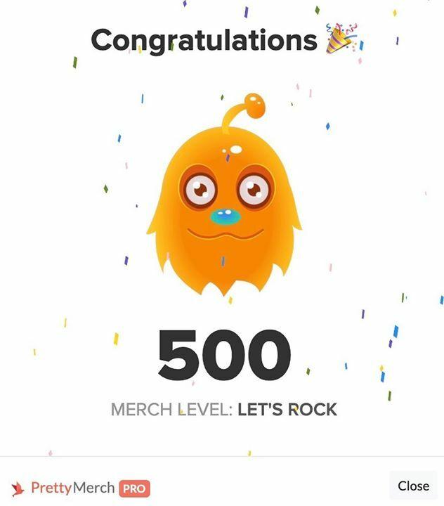 Yeah, für mich war es heute auch endlich soweit! 3 Tage nach meinem 80ten Sale wurde ich auf Tier 500 geupgradet 🎉🎊🍾  Q4, ich komme!  #merchbyamazon #mbasales #passiveseinkommen #einfachandersdesigns #T500 #merchbuddy #mbade #mbadeutschland #shirtbusiness #prettymerch #mbast… https://t.co/ZKBu2nvLRG