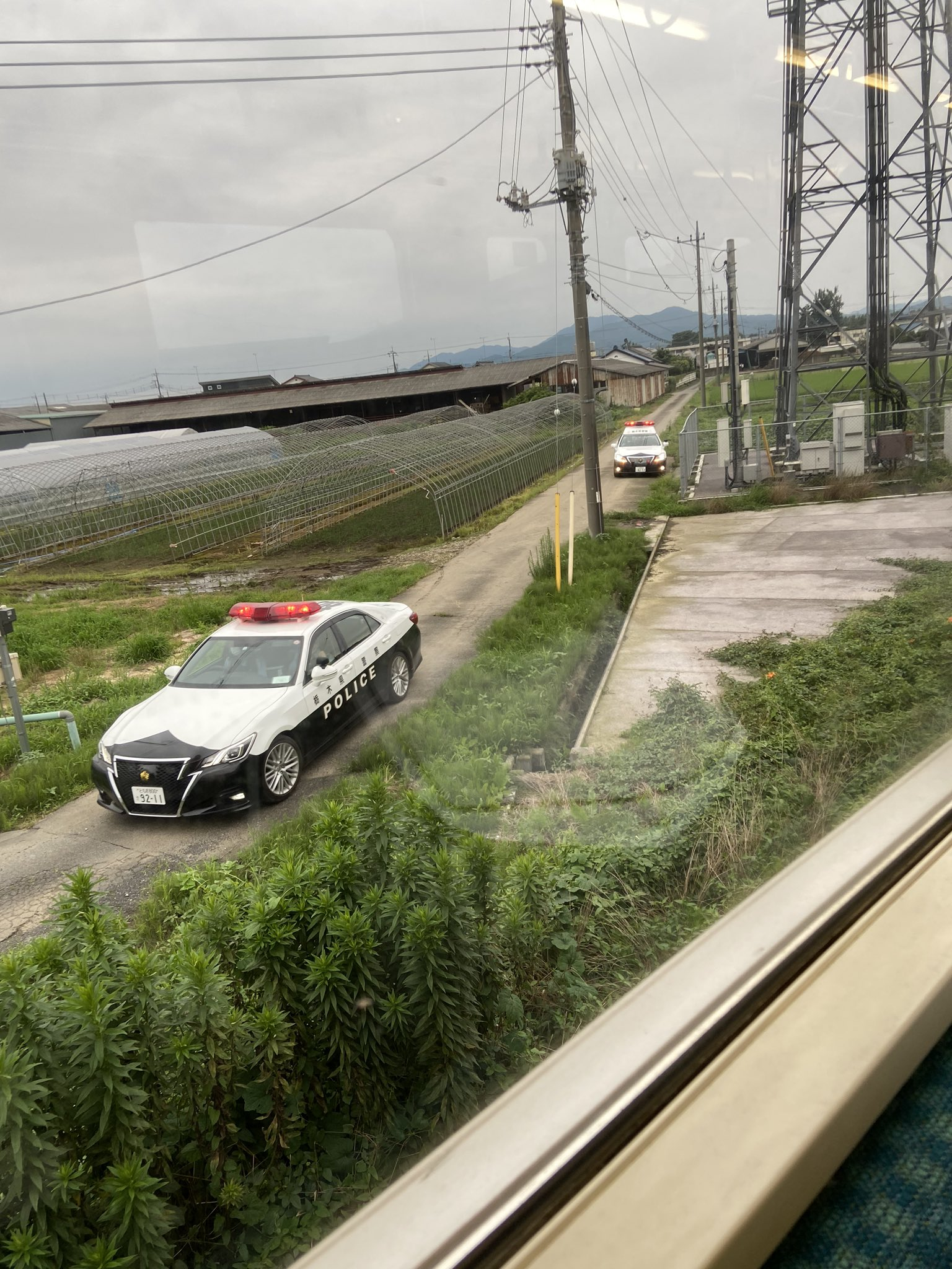 両毛線の栃木駅~思川駅の人身事故現場の画像
